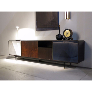 Hot Sale TV LCD Wooden Cabinet Designs With Wooden Iron Legs Designs