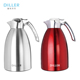 Large capacity travel stainless steel hot water thermo flask pot vacuum insulated insulation thermos tea coffee pot