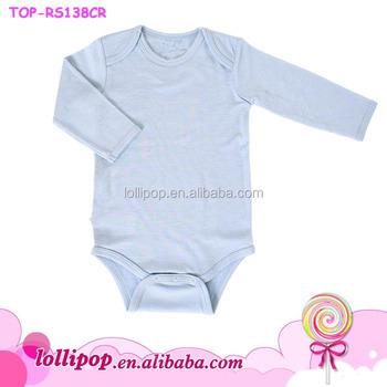 2016 Baby Clothes Plain Cotton Onesie Boutique Nova Baby Clothing