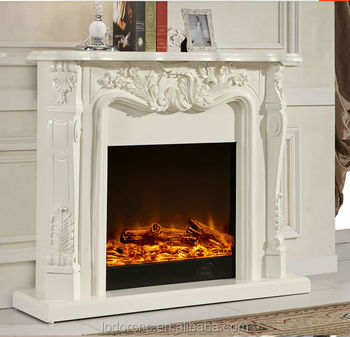 ivory white antique decor flame electric fireplace and mantel buy rh alibaba com vintage electric fireplaces antique electric fireplace heaters