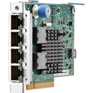 "Hewlett-Packard - Hp Ethernet 1Gb 4-Port 366Flr Adapter - Pci Express X4 - 4 Port(S) - 4 X Network (Rj-45) ""Product Category: Network & Communication/Network Interface Cards"""