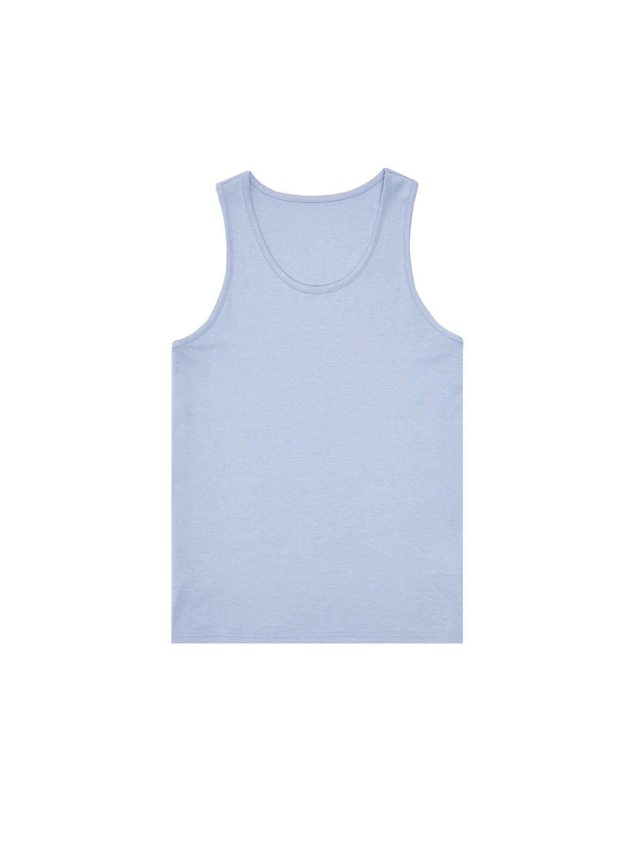 Wholesale Custom Man's Cotton Tank Top Basic Vest