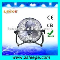 small metal quiet floor fan