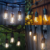 Connectable Festoon LED Party string Christmas Lights fairy wedding garden globe string lights