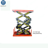 mini warehouse electric hydraulic lift table for sale