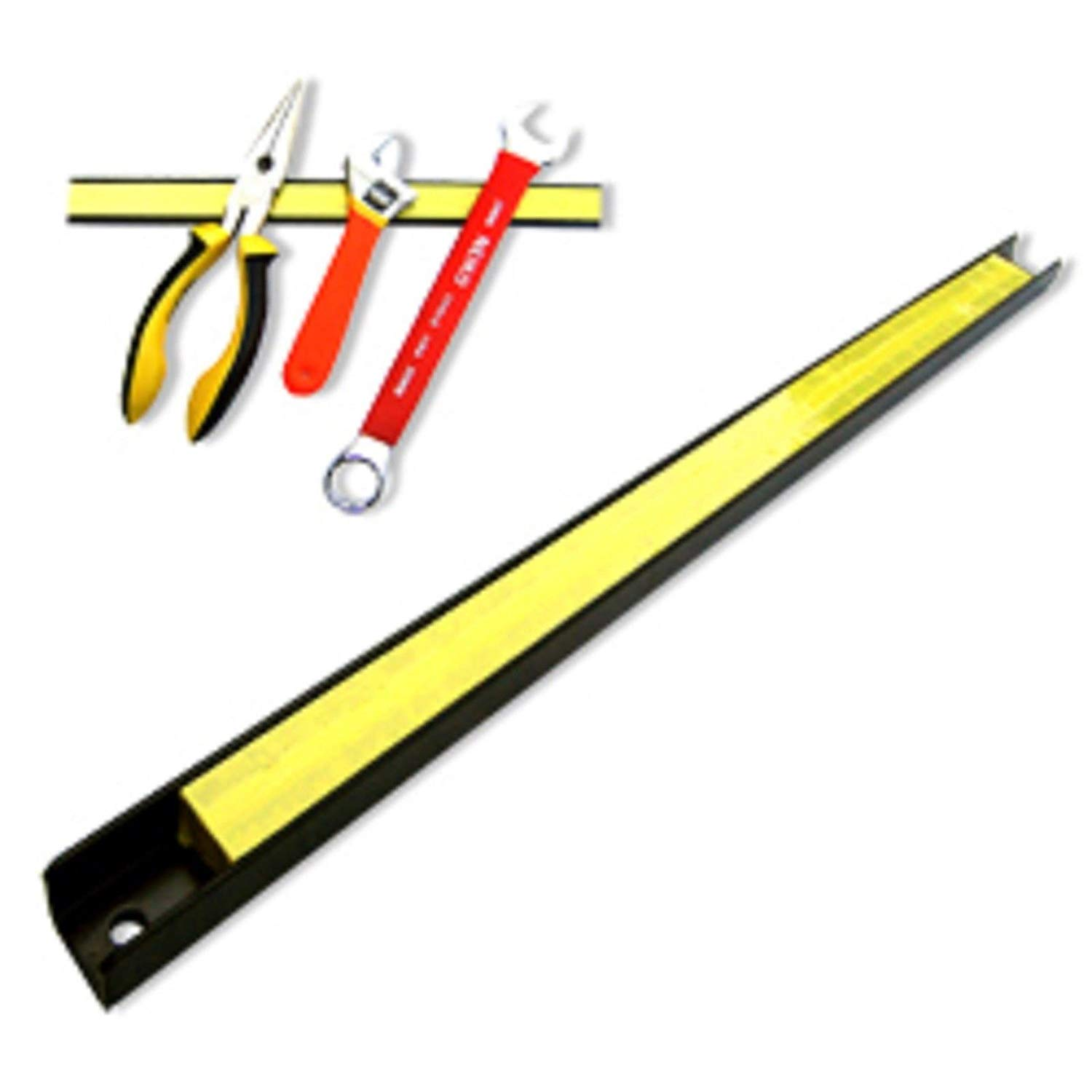 "ESKALEX>>(5) 18"" Magnetic Tool Holder Bars Magnet Mechanic Shop And 1"" WidePowder Coating30lb Capacity each Quantity: 5"