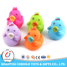 Hot selling soft animal funny rubber duck toys for kids