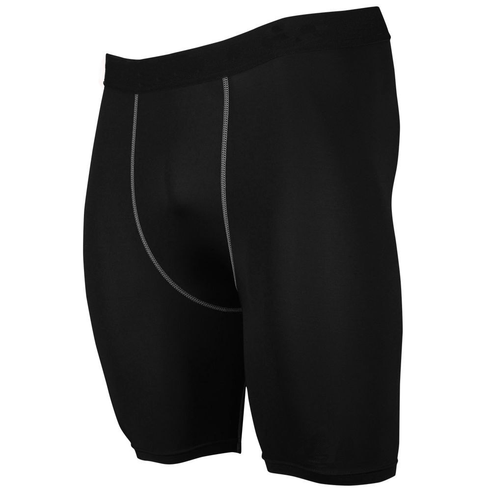 b01ee0ae90 Mens Gym Wear Black Stretch Breathable Sports Quick-Drying Short Tights  Compression Running Shorts