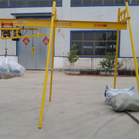 Factory Price 4 Post Hoist Air Conditioning Lifting Equipment