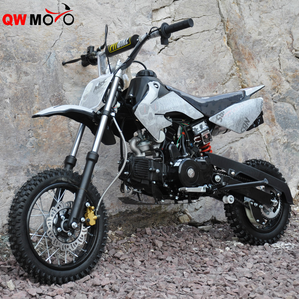 qwmoto 2 r der bike 90cc 110cc dirt bike pit bike zum. Black Bedroom Furniture Sets. Home Design Ideas
