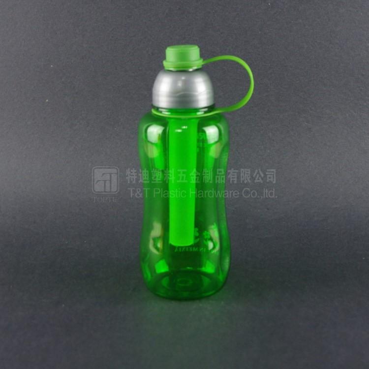 vert couleur tritan bouteille d 39 eau avec glace cong lateur b ton bouteille id de produit. Black Bedroom Furniture Sets. Home Design Ideas