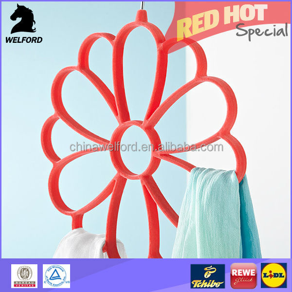 Hot Selling Clothes Hanger Environment Material flower hanger