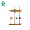 Organized Fishing Vertical Wall Rack for Fishing Rod Storage