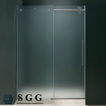Frosted Glass Partition Frameless Smart Glass For Bathroom Buy