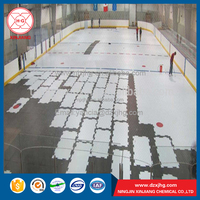 china raw material uhmwpe plastic 20mm thick ice rink panels