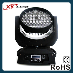 RGBW 108 * 3W LED Moving Head Dj Lights