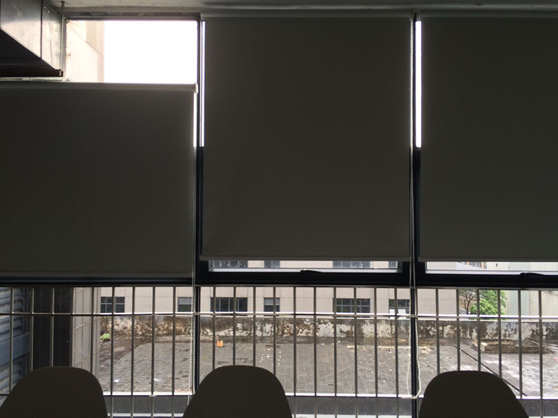 Blackout window shades blinds office manual roller blinds