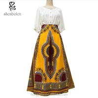 sp6012 dashiki maxi skirt custom make welcome wholesale only