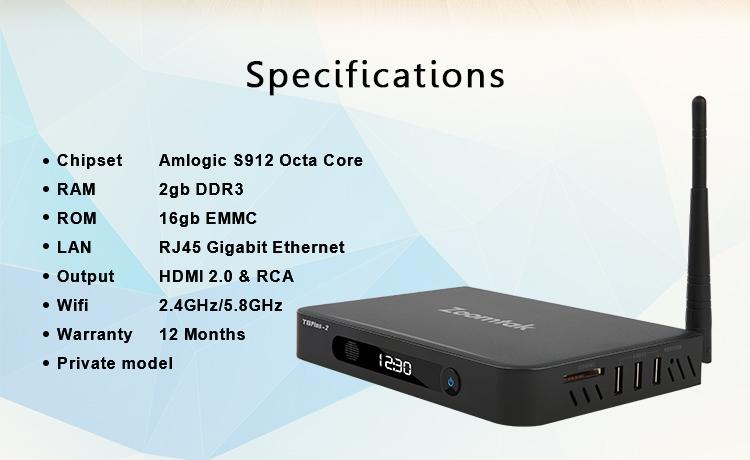 Практичная Улучшенная прошивка хорошего качества amlogic s912 Android TV Box