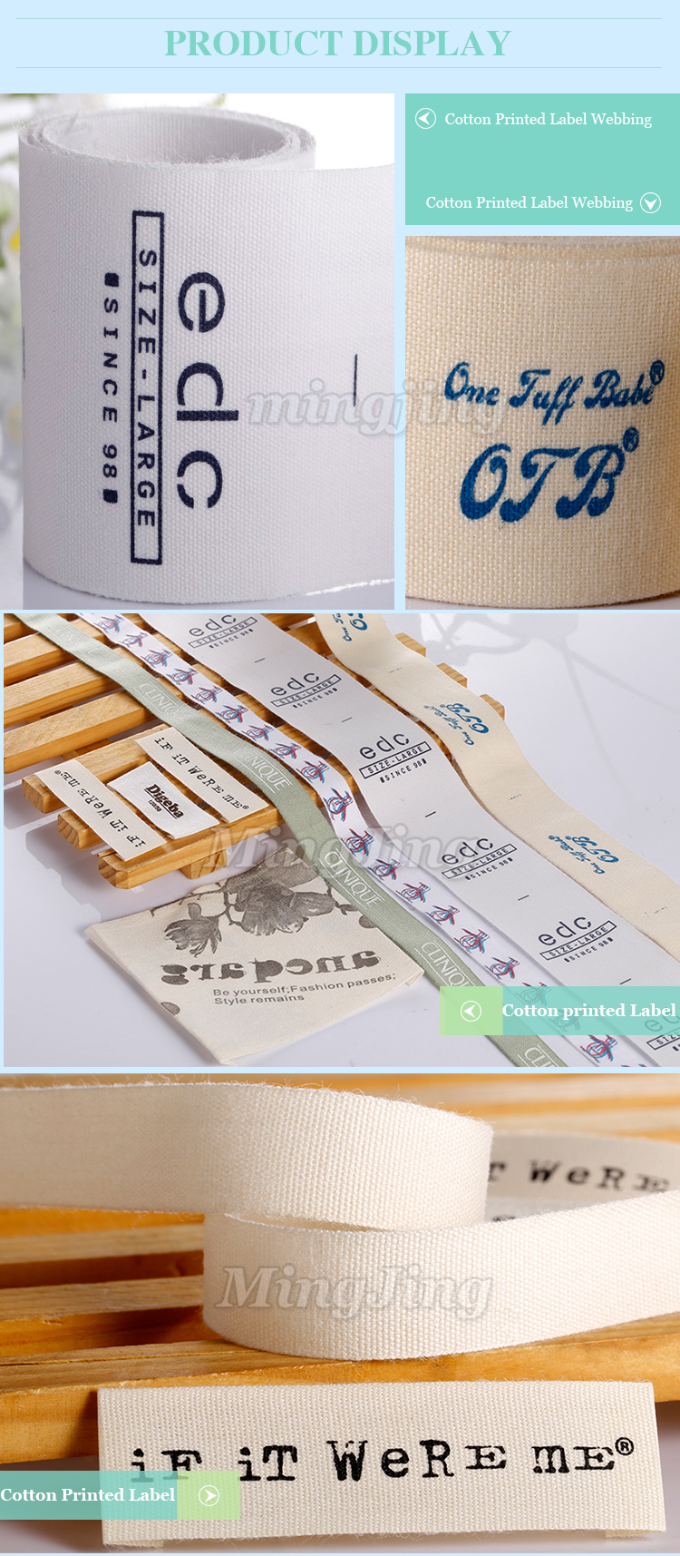 Factory Directly Sell Custom Printed Satin Ribbon In Guangdong