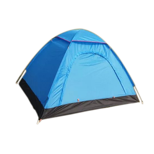 cheap single Layer 1 - 2 Person Dome Type camping tent with waterproof mylar child play tent equipment winter fishing tent
