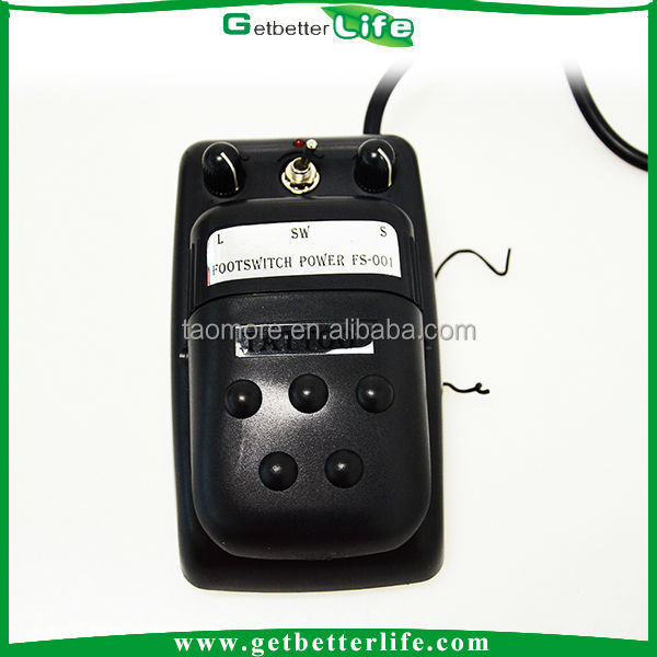 Tattoo power supply and electric Foot Pedal Switch FS-001