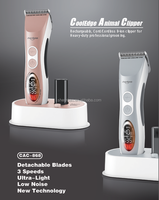 Shernbao CAC-868 Famous pet hair clipper as good quality as wahl clipper