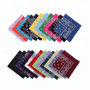 1b8a2941208 Mode crâne impression coton bandana pas cher logo personnalisé imprimé  foulard carré