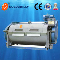 industrial dyeing semi washing machine textile for sale