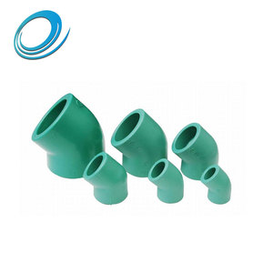 Good quality ppr adaptor 45 degree elbow pipe fitting