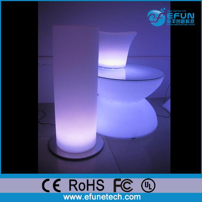 Rgb Color Changing Illuminated Led Light Pillars Party Wedding Decorative Lighting Columns