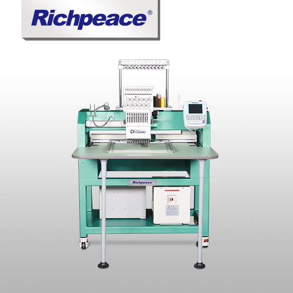 Richpeace Computerized Single Head Cap/Tubular Embroidery Machine