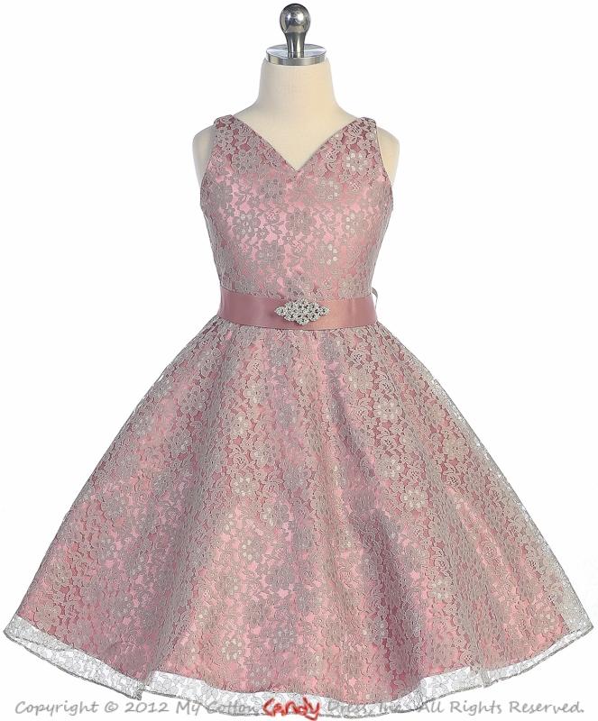 Get Quotations 2017 Vintage Pink Satin Grey Lace A Line Princess Flower At Weddings Children