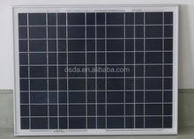 cheapest poly solar module 40W for india market