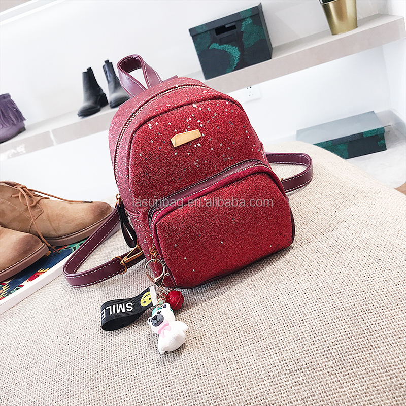 2018 Stylish <strong>Backpacks</strong> Women Light PU Material Girls Cute Small <strong>Backpacks</strong>