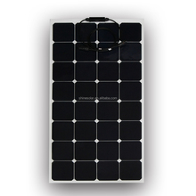 ETFE 100W Sunpower hohe effizienz <span class=keywords><strong>flexible</strong></span> solar panel