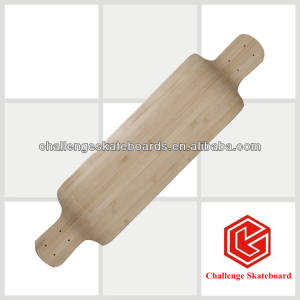 Challenge 2 ply bamboo + 6 ply Chinese maple blank skateboard deck