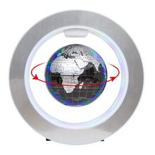 Decoration Magnetic Levitation Floating Globe World Map Magnetic Floating  World Globe