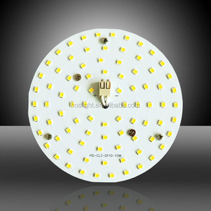 Epistar 2835 smd 100lm/W 230v round ceiling light led pcb board/led module for 2D lamp replacement