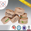 strong adhesion water activated starch glue brown kraft paper roll tape for carton sealing
