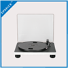 Auto stop 3-speed vinyl turntable record player with PC recording