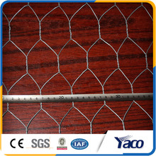 Anping YACHAO factory hexagonal mesh for Plastering in steel wire mesh