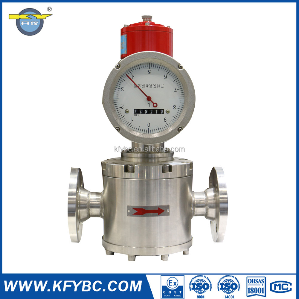Mechanical Oval gear Flow Meter For Liquid, Diesel, Gasoline, Petrol Of Positive Displacement Flow Meter