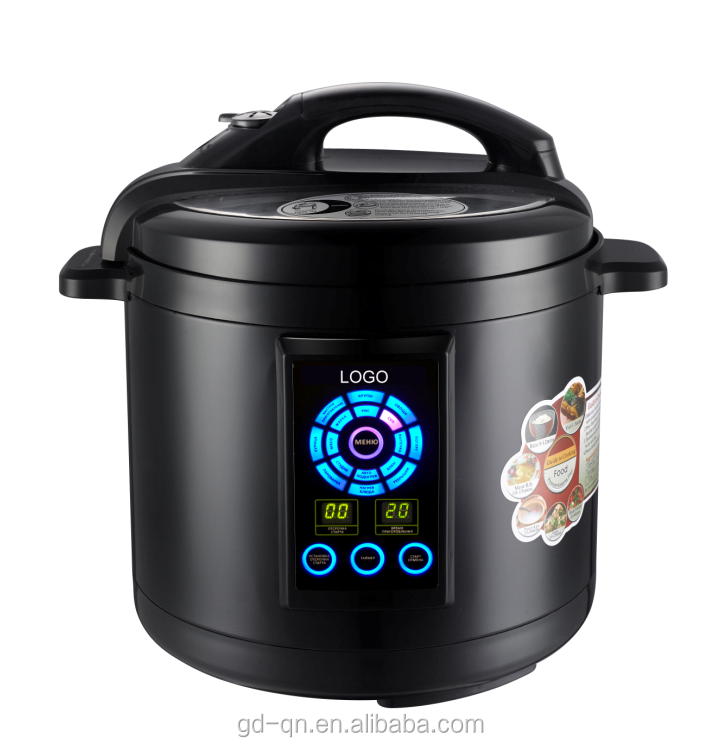 National commercial stainless steel digital electric multi pressure cooker