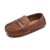Breathable classic style leather boy kids shoes