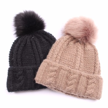 New Product Ladies Winter Caps Pompon Hat - Buy Pompon Hat ... 320c0711303