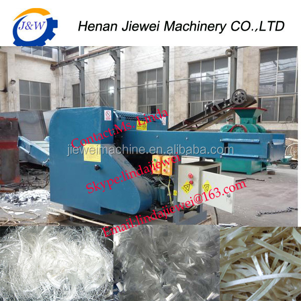 High efficiency cloth scrap /textile /waste fiber cutting machine