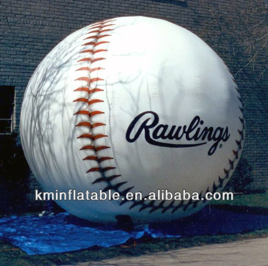 giant advertising inflatable baseball