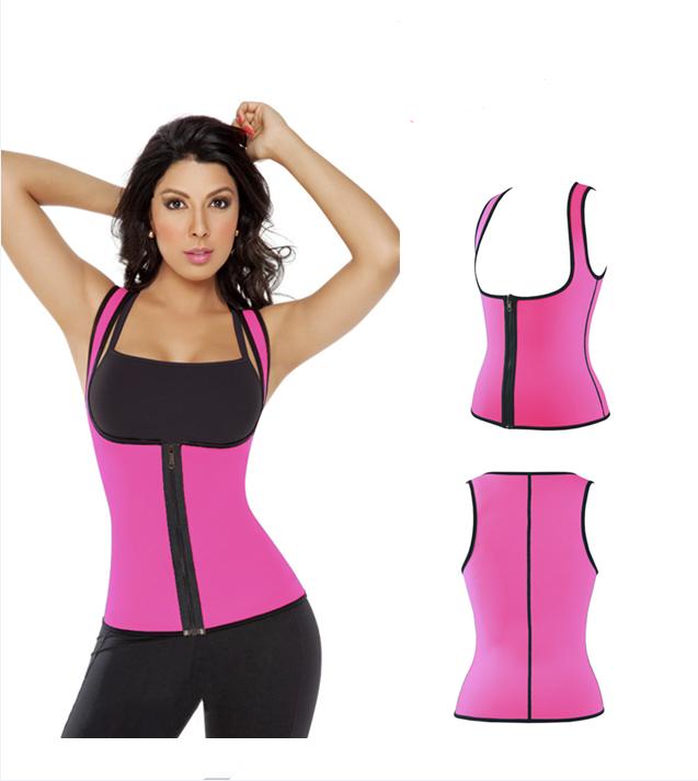 5 colours Waist Sauna Sweat Suit Shaper Vest Tank for Women sport Wear Top 5