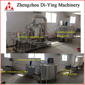 50L Automatic Honey Thickener Line/ Honey Thickening Production Equipment/Honey Extraction Machine